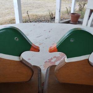 Vintage Accents - Vintage duck bookends